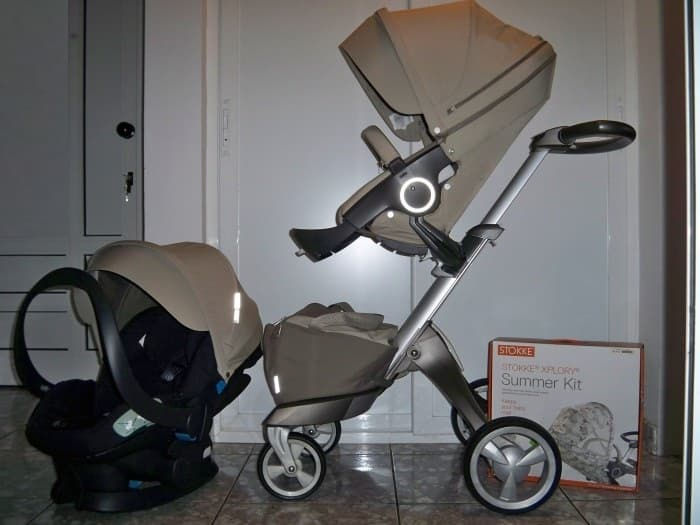 Stokke Xplory 2014 V4 Sportwagen Stroller From Baby Splash