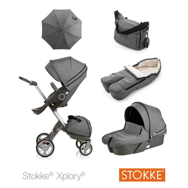 how to put hood on stokke carrycot