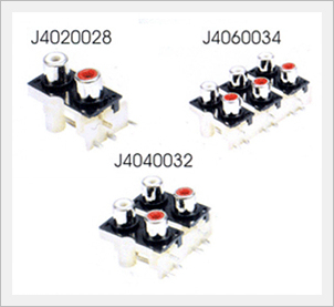 Electronic Components (PIN Jack Board - J4 Type)