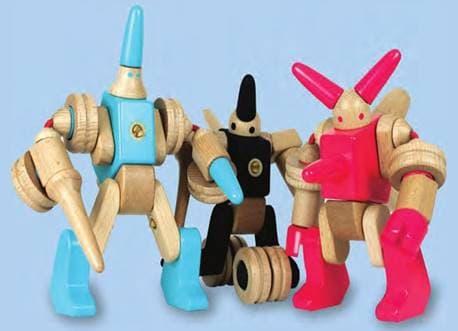 Wood Transformers- Robot set