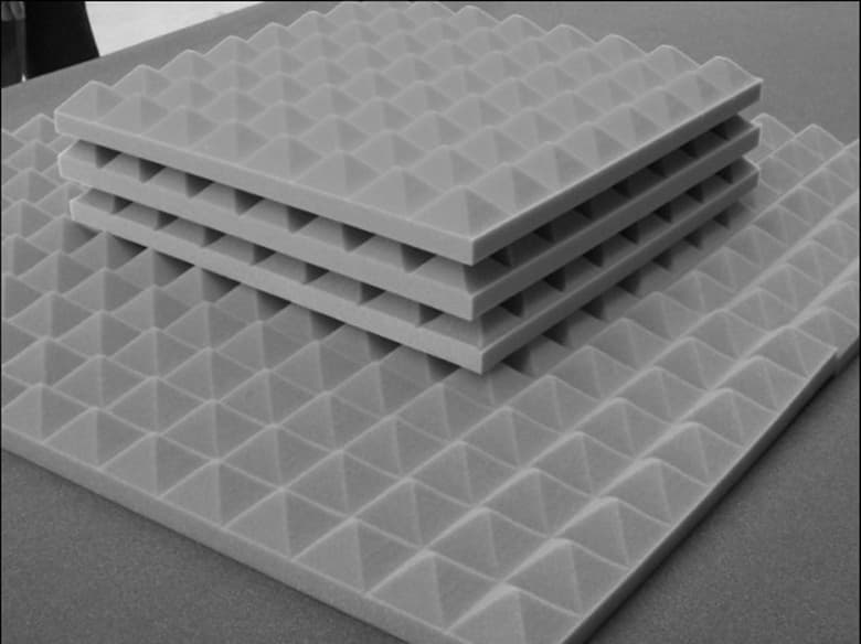 Sound Insulation Panels : Acoustic noise insulation melamine foam panel from