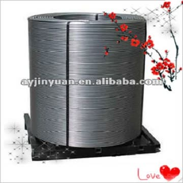 highly pure CaSi/SiCa Cored Wire,Si55%Ca28% with competitive price