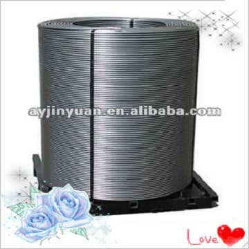 Golden quality CaFe/Calcium Ferro Cored Wire factory price,Jinyuan supply