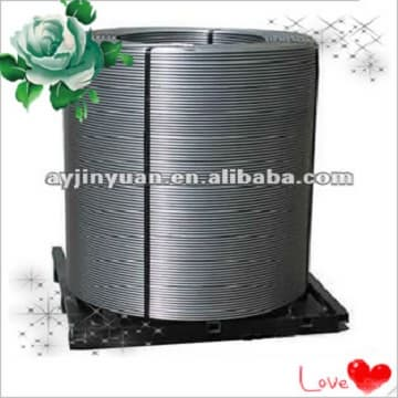 customer-oriented Carbon Cored Wire/C cored wire,C96%,for high quality steel production