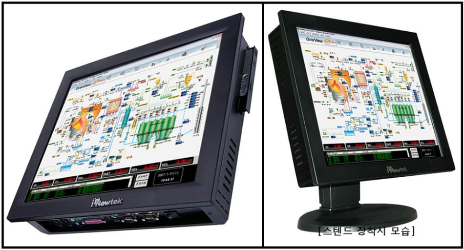 17 inch Ultra Slim & Compact size industrial Panel PC (NTP17SL)