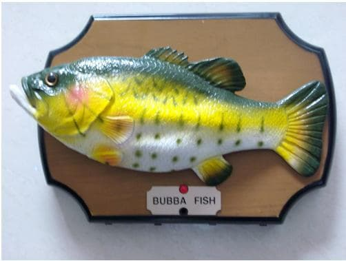 Big mouth billy bass bubba fish from honghai technology for Talking fish toy