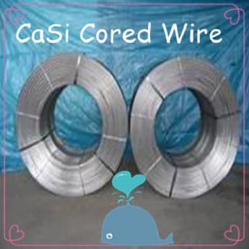 specialized production CaSi Cored wire/Ferro Calcium Silicon Cored Wire highly pure