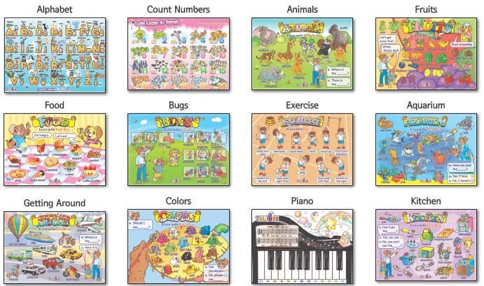11.My First Talking Poster(Wallchart)-for kids, child from Talk ...