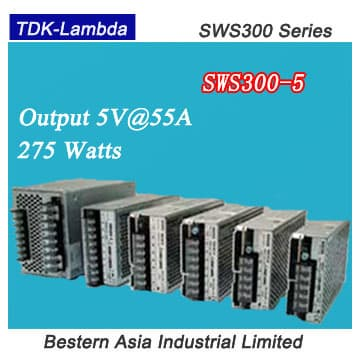 SWS300-5 TDK-Lambda 300W 5V <strong>Power</strong> Supplies for LED SCreen
