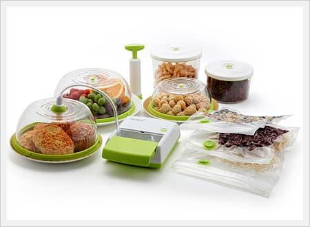 Vacuum Sealing Food Storage System