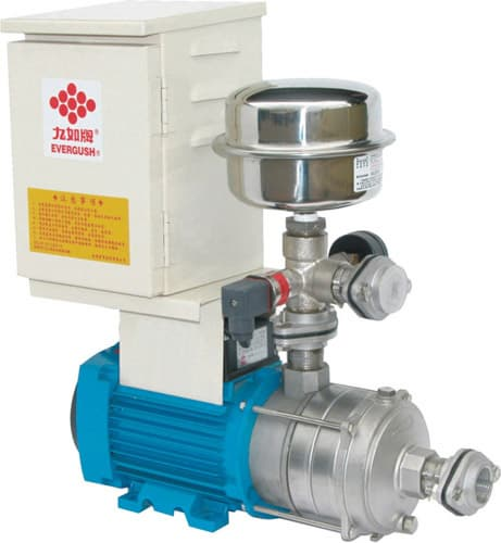 Inverter control booster pump