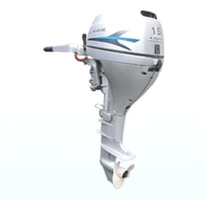 stroke gasoline outboard motor