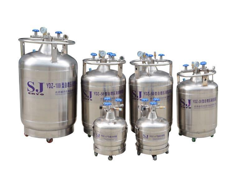 Self Pressurized Liquid Nitrogen Tank Tradekorea