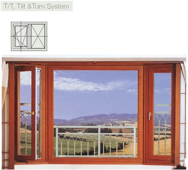 UPVC Windows systems, Hi sash profiles, Balcony window, Systems window