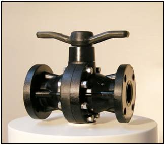 SMC FRP Ball Valve