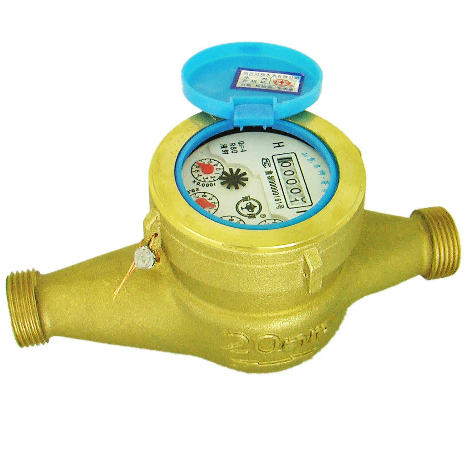 House Water Meter : Brass water meter from shandong guanxiang co ltd