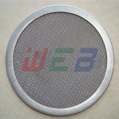 Round Wire Mesh Filter Discs Oil Filter Liquid Filter