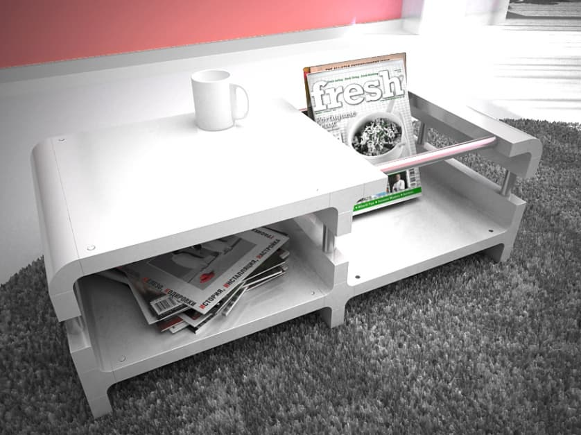 CUBIC'S 2 coffe table