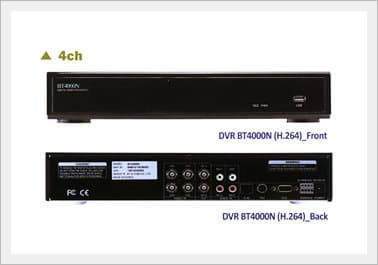 BT Series Standalone <strong>DVR</strong>(H.264)