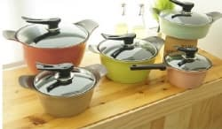 ceramic coated aluminum die-casting cookware