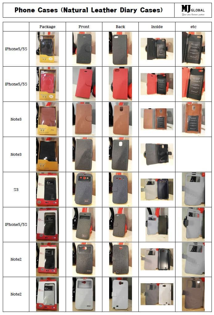 Smart Phone Case (Diary Leather)