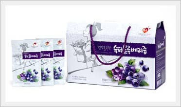 Super Blueberry Juice for Health   tradekorea