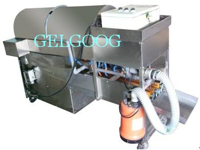 boiled egg shell removal machine