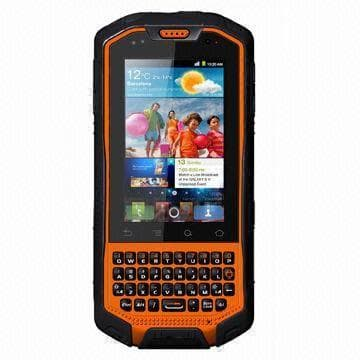 Rugged 3G Touchscreen Smartphone with Walkie Talkie, Dual SIM, Android OS and IP67 Waterproof Grade