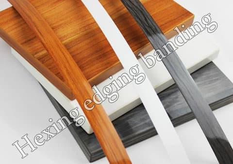 High Gloss Woodgrain Pvc Edge Banding For Furniture Tradekorea