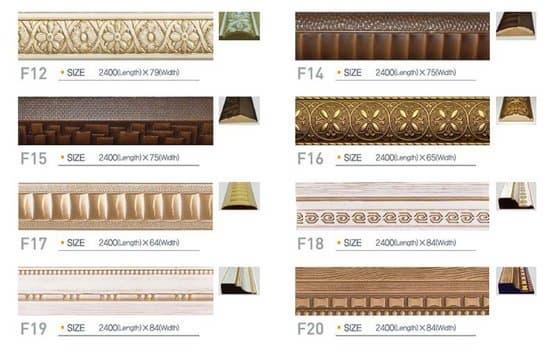 Decorative Wooden Mouldings. Product Thumnail Image Zoom  Decoration Wooden Pulp Moulding Panel from EcoOne Holdings