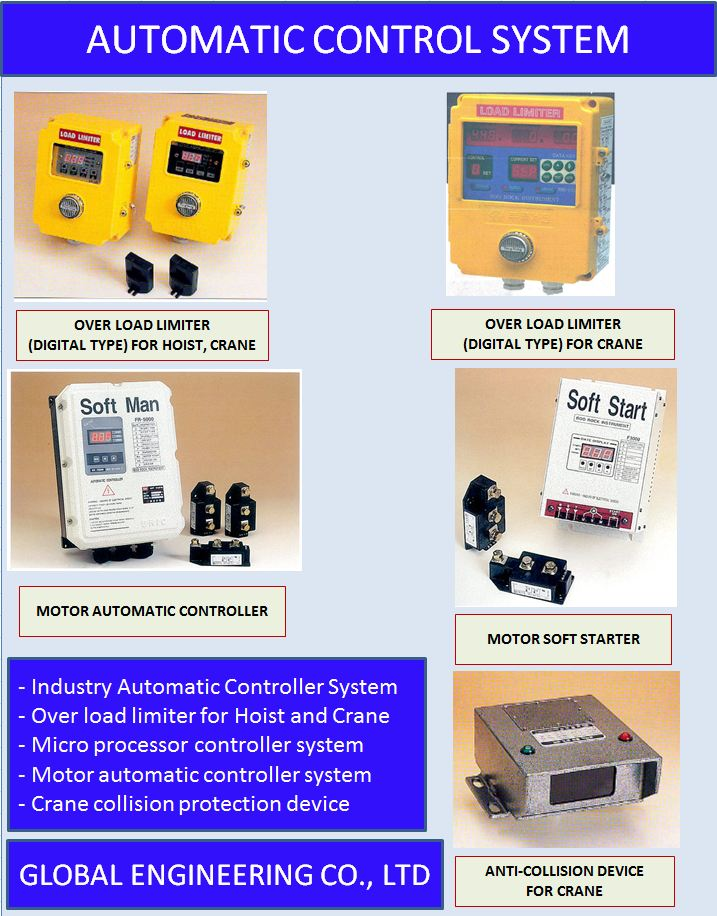INDUSTRY AUTOMATIC CONTROL SYSTEM