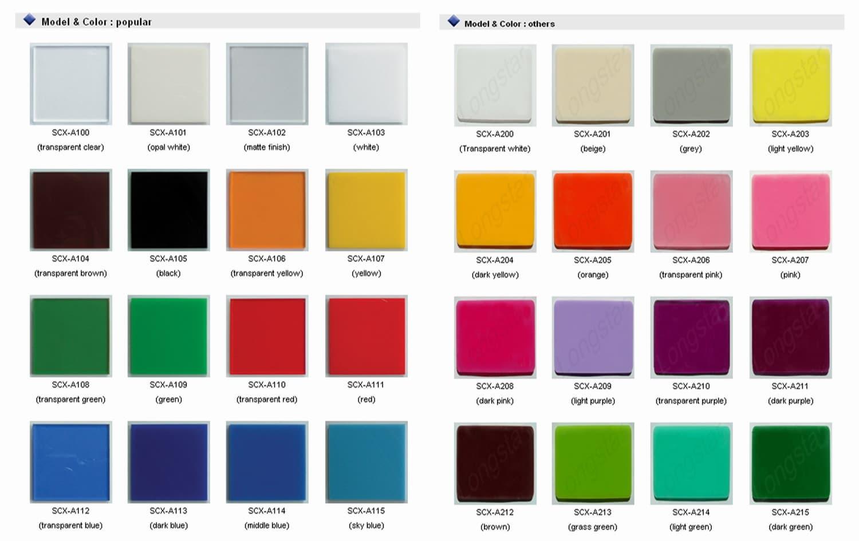acrylic sheet colors - Plexiglas Color