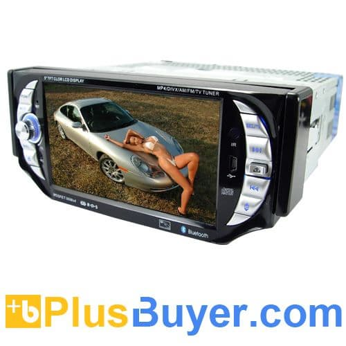 Car Stereo Multimedia player System (1 DIN, 5 Inch, Bluetooth)