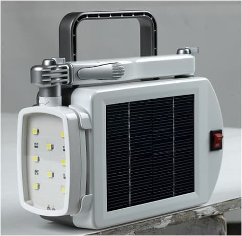 Solar rechargeable LED lighting combo(lantern_stand)