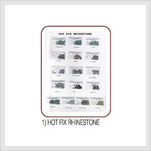 Hot fix rhine stone hs code from young for Bathroom accessories hs code