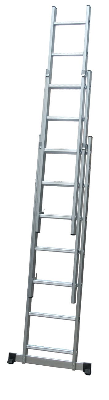 aluminum extension ladder combination ladder3X8steps