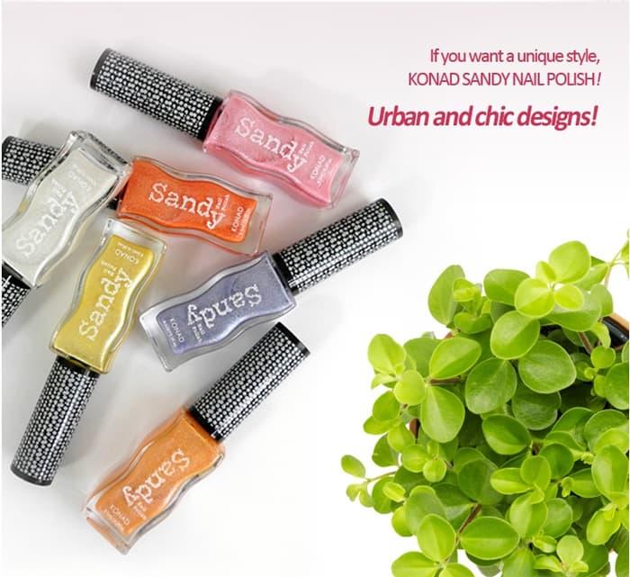 KONAD Sandy Nail Polish from KONAD Co., Ltd. B2B marketplace portal ...