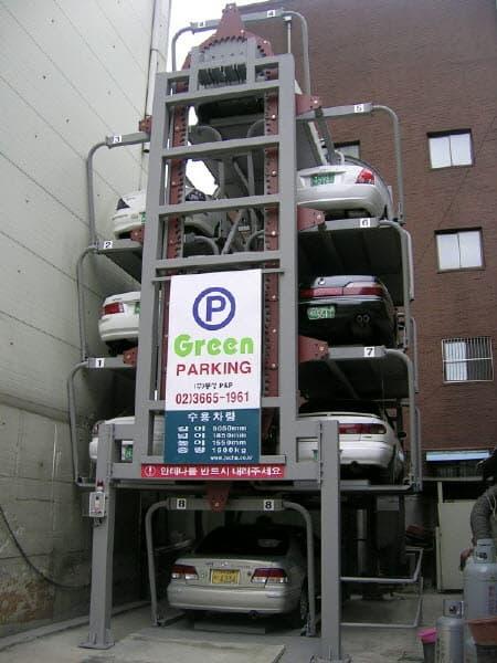 Mini Rotary Parking System Tradekorea