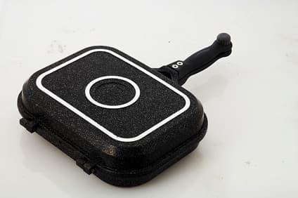 JUMBO Double pan (Twin pan, marble coated cookware)