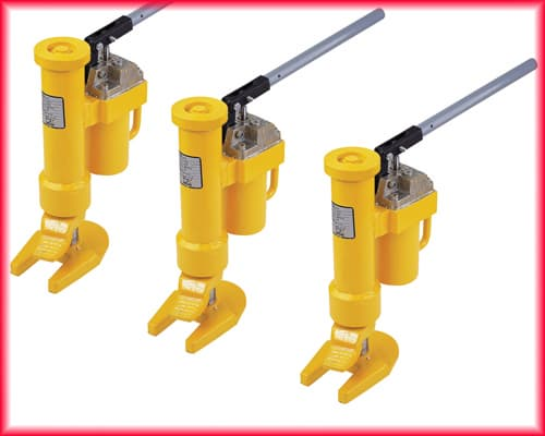 Heavy Equipment Oil Leaks : Revolving toe jack lifting heavy duty load flexible from