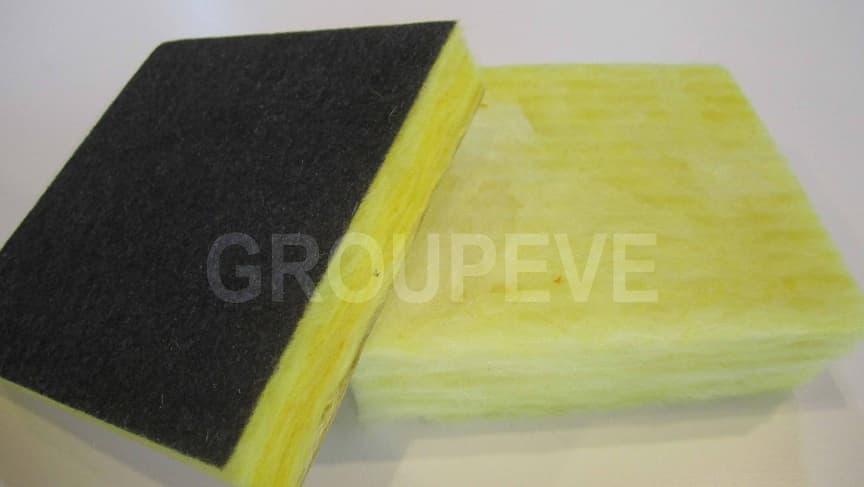 Insulation glass wool board from groupeve b2b marketplace for Fiberglass wool insulation