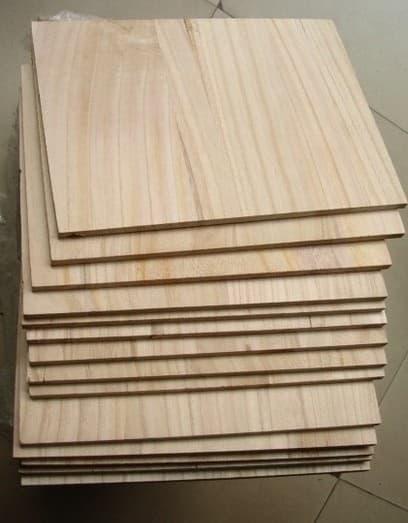 Paulownia boxing board boards from heze ruibo