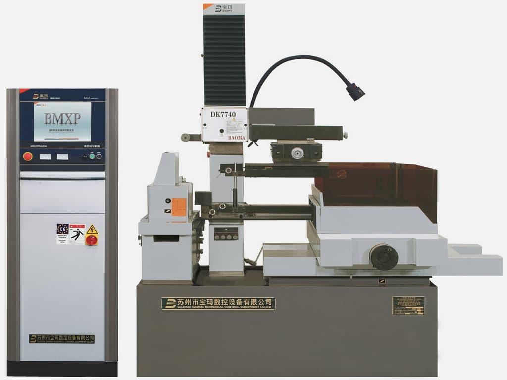 CNC Wire Cut EDM DK7740F from Suzhou Baoma Numerical Control ...