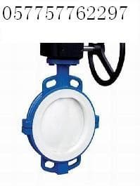 lined butterfly valves