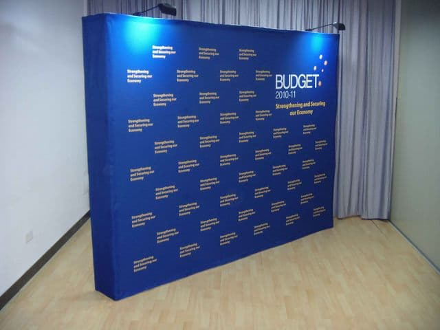 Exhibition Booth Backdrop : Fabric exhibition booth fabric backdrop tradekorea