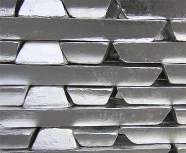 Zinc alloy material