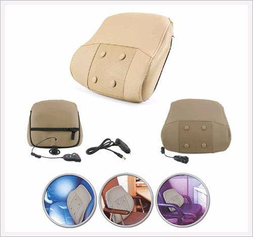Backrest with Heat and Massager