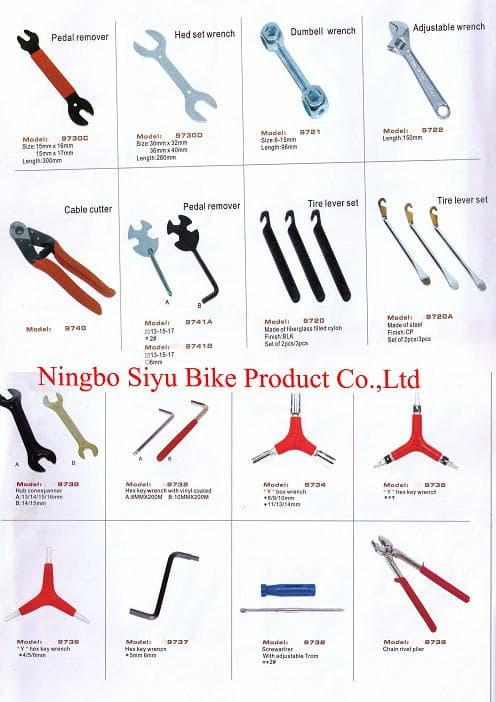 Mechanic Tools Names Bicycle repair tool lkits/cycle tools /bike tools ...