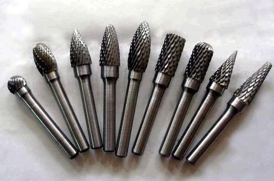 Tungsten Carbide Burrs from Marie Jay's Metal Products Co ...