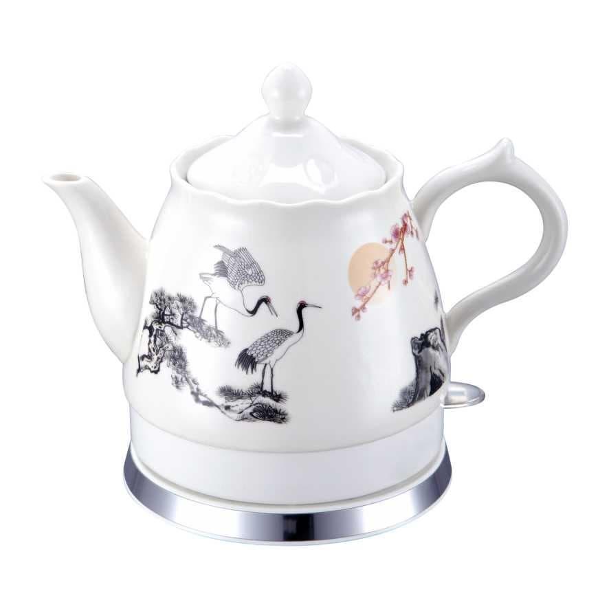 Porcelain Electric Kettle ~ Ceramic kettle mk h from foshan shunde mxikey